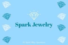 Blue Spark Jewelry Social Post Jewelry