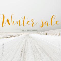 Winter sale Winter