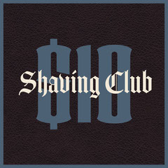 Blue and Black Barber Shop Square Instagram Graphic Barber