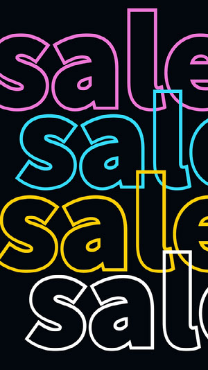 Black and Neon Color Sale Ad Instagram Story How To Convert Your Website Traffic To Buyers