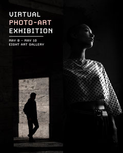 virtual photography exhibition instagram portrait Art Exhibition