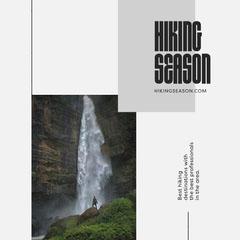 Hiking Season Instagram Square Adventure