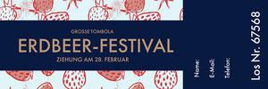 Erdbeer-Festival Eintrittskarte