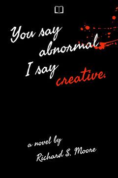 Creative Splatter Book Cover  Paint