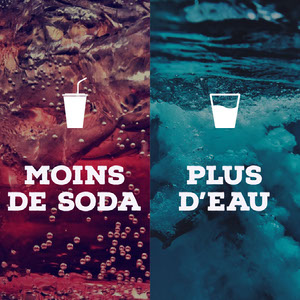 MOINS DE SODA Montage photo