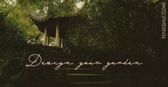 Green Garden Design Facebook Post Graphic Garden