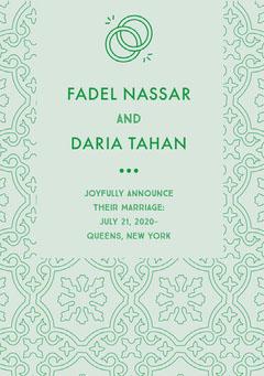 FADEL NASSAR <BR>DARIA TAHAN Couple