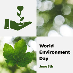 World Environment Day Instagram Square Earth