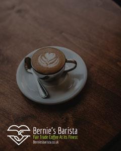 Brown Fairtrade Coffee Instagram Portrait Coffee