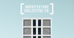 Blue and White Architecture Collective Company Facebook
