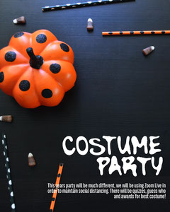 Pumpkin Halloween Costume Party Instagram Portrait Halloween