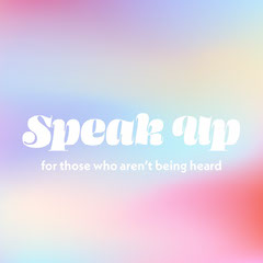 Gradient and Typography Activism Phrase Instagram Square Groovy