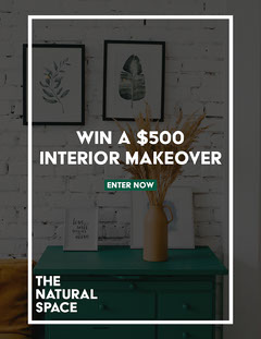 Natural Home Space Home Competition Newsletter Contest