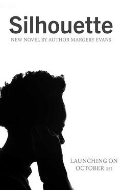 Black & White Silhouette Book Launch Poster Marketing