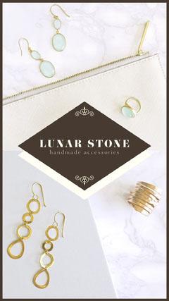 Handmae Jewelry Store Instagram Story Ad Jewelry