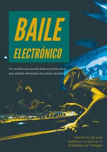 Baile<BR>electrónico Invitación