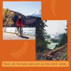Bike Rental Instagram Square Bike