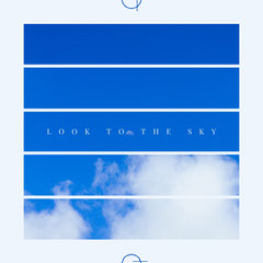 LOOK TO THE SKY Blue