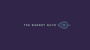 Navy Blue and Green Gadget Guys Banner Cabecera del canal YouTube