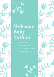 Welcome Baby Nathan!