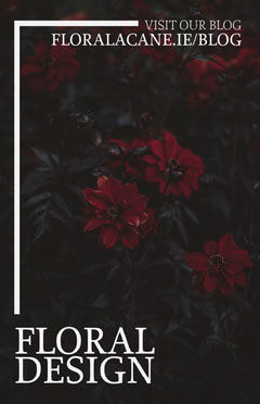 Red Flower Flower Blog Poster Blogger