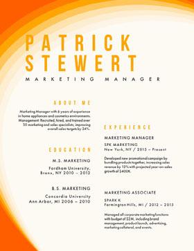 PATRICK<BR>STEWERT Currículo criativo