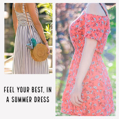 Summer Dress Instagram Square Dress