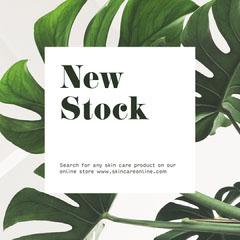 New Stock Shopping