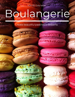 Colorful Cookies Boulangerie Magazine Cover Desert