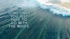 Waves Desktop Wallpaper Water