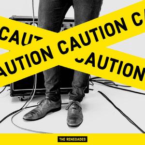 Yellow, Black and White Music Album Cover Copertina album