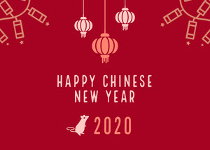 card Chinese New Year