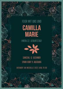 Camilla Marie  Einladung
