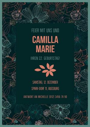 Camilla Marie  Einladung zur Party