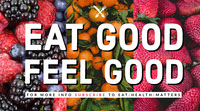 EAT GOOD  FEEL GOOD Top Social Media Sites