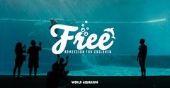 Free Admission Aquarium Facebook Post Family