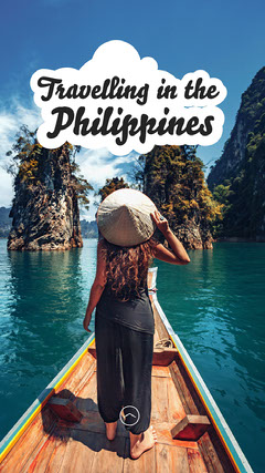 Travelling in Philippines IG Story  Boats