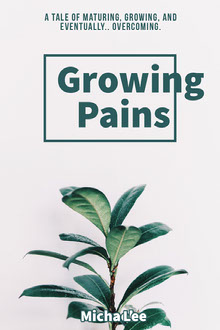 Green Self Help and Growth Book Cover with Plant Book Cover