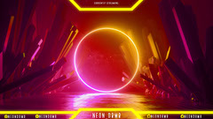 yellow neon twitch overlay  Neon