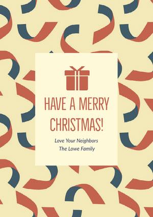 Have A Merry Christmas! Cartão de Natal