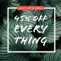 Green, White and Red Fourth of July Sale Instagram Post 4th of July