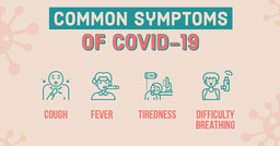 Symptoms of COVID-19 - Facebook Post