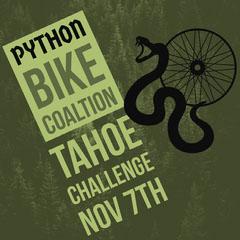 Green and Black Bike Coaltion Instagram Graphic Bike