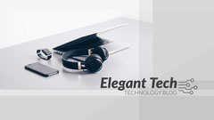 Gray Technology on Surface Elegant Tech Blog Banner Tech