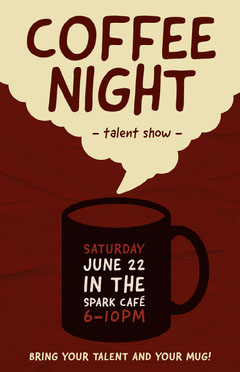 COFFEE<BR>NIGHT Shows
