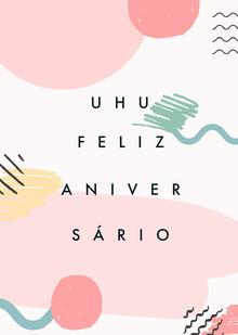 yay birthday cards  Cartão de aniversário