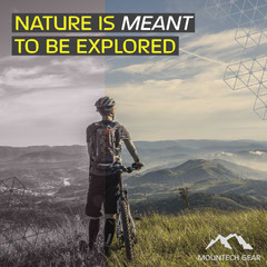 NATURE IS MEANT TO BE EXPLORED Bike