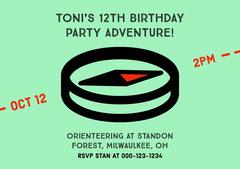 birthday invite for neutral  Boys