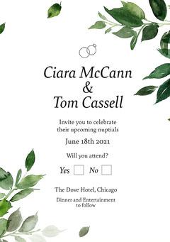 Cassell Wedding Invitation Weddings