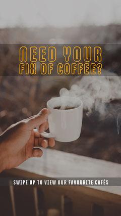 Fix of coffee Instagram Story Tea Time